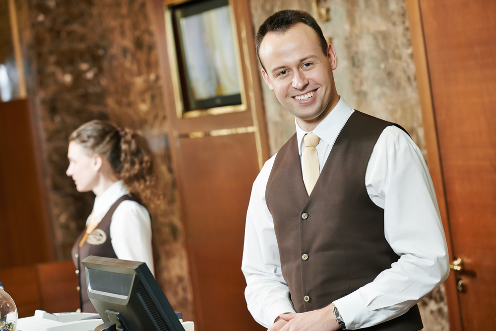 waiting staff at the ready Catering and Hospitality Recruitment
